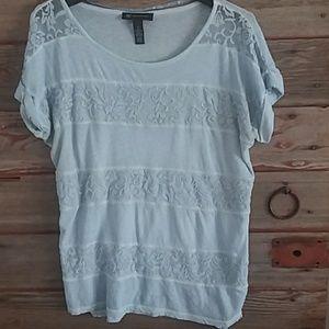 Blue Lace Shirt